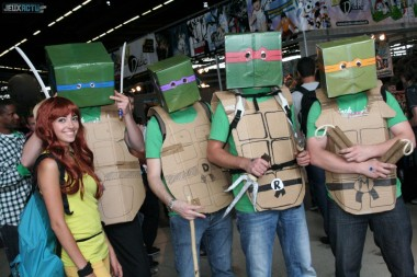 TMNT cospaly 2