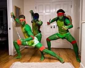 TMNT cosplay