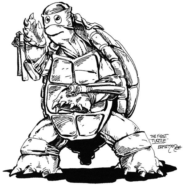 TMNT première tortue