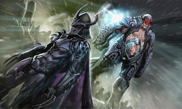 TMNT Shredder badass