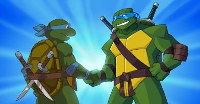 TMNT Turtles forever