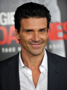 Actor Frank Grillo arrives for the premi