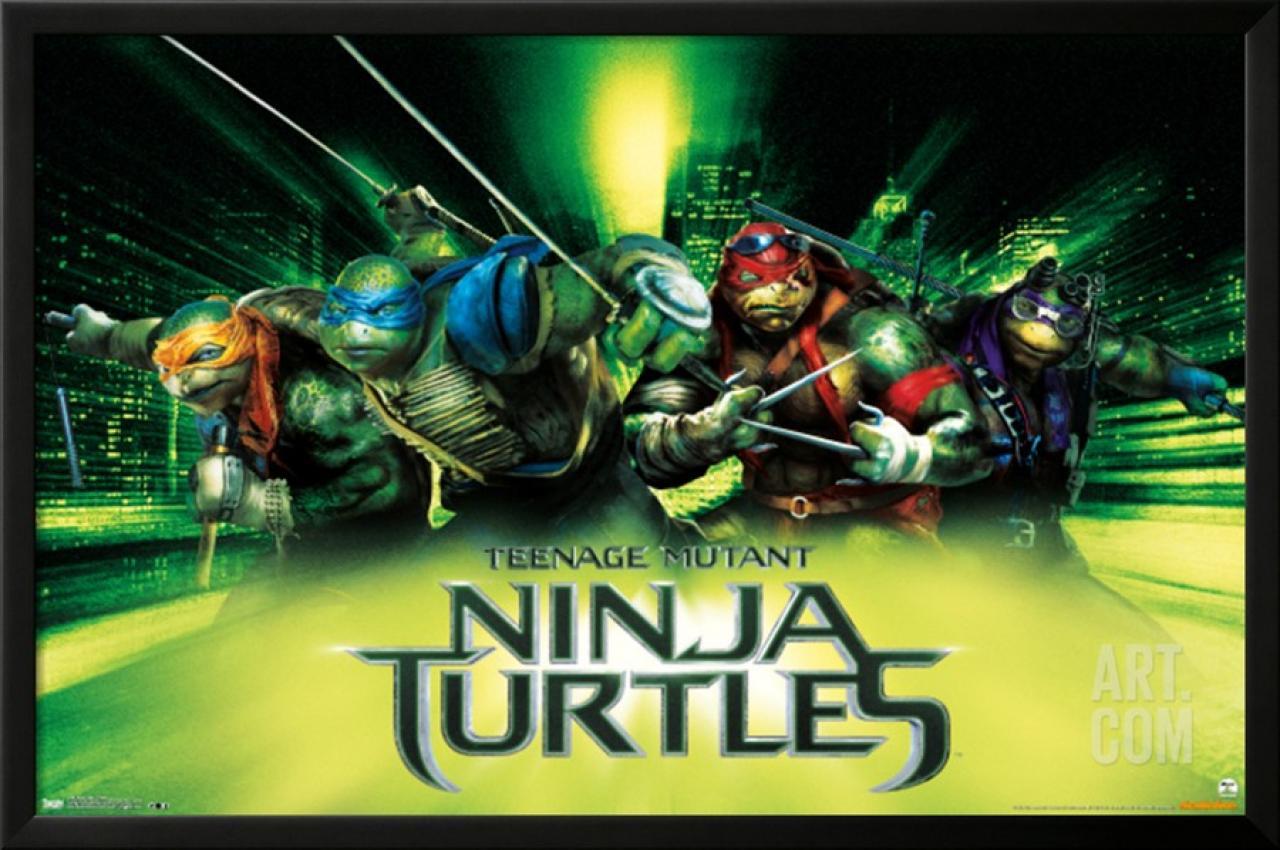 Photos les tortues ninja s affichent le cine des flemmards - Mechant tortues ninja ...