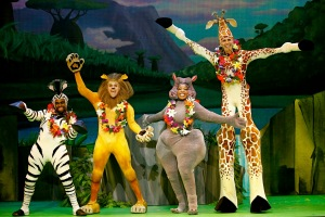 Madagascar Live! Photo Credit Carol Rosegg