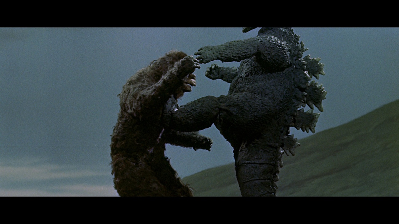 godzilla fight king kong