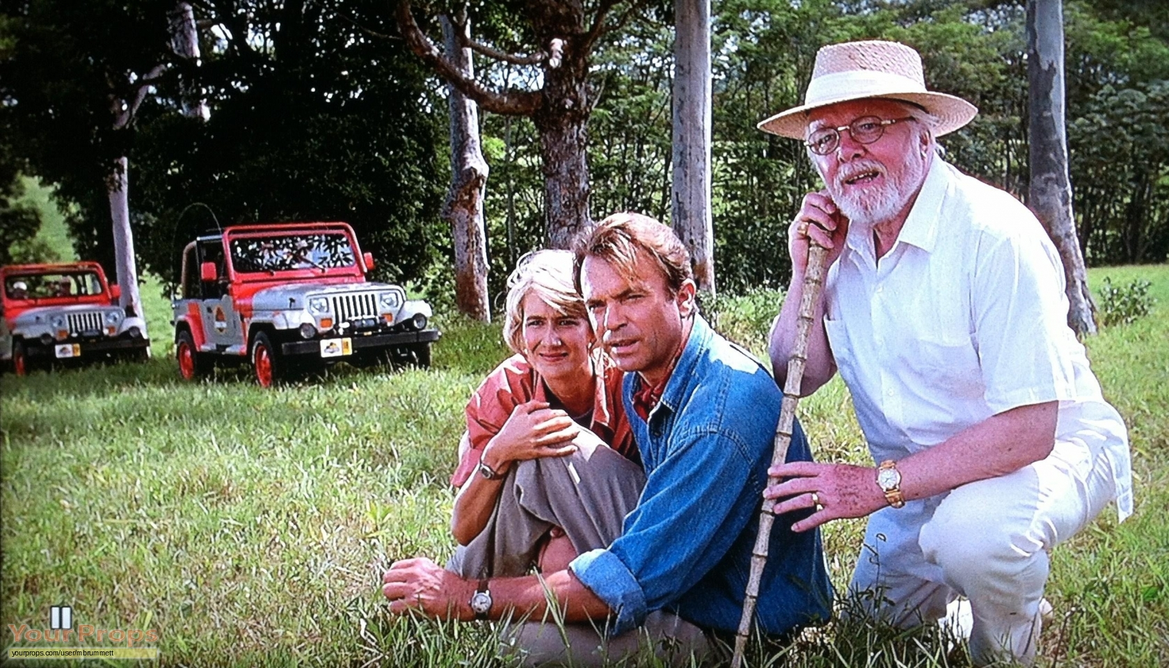 [NEWS CINÉ] JURASSIC WORLD REND HOMMAGE A RICHARD ATTENBOROUGH