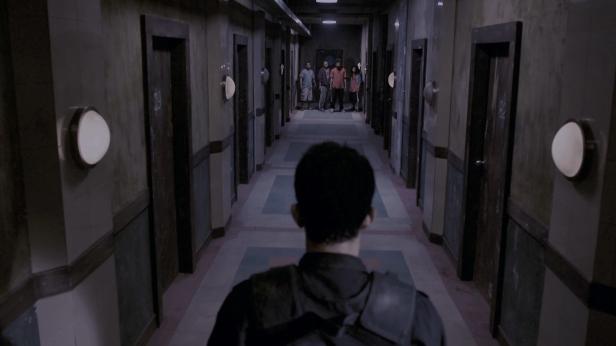 the raid - couloir fight