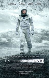 INTERSTELLAR affiche froid