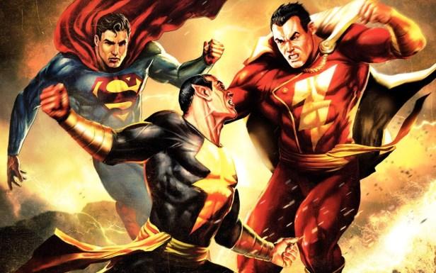 Shazam blackadam.superman