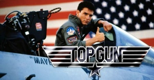 TOP GUN, Tom Cruise, 1986""