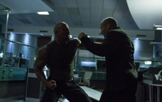 Fast furious 7 Rock Statham