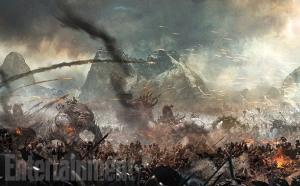 Le hobbit 3 bataille