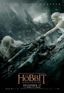 Le hobbit 3 gandalf galadriel