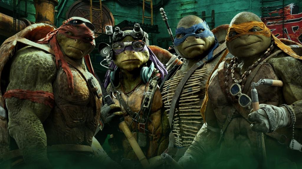 Ninja turtles band