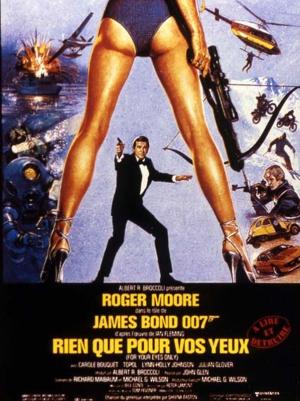 James Bond - Rien que pour vos yeux aff