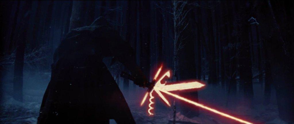 Star Wars 7 lightsaber joke