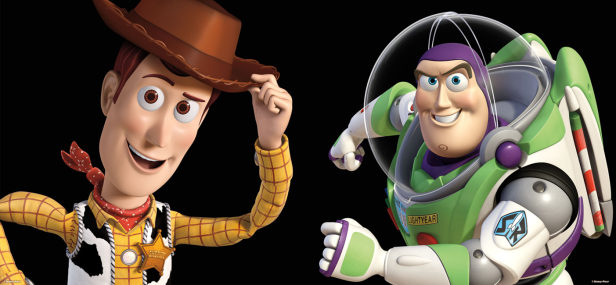 Woody et Buzz Toy Story