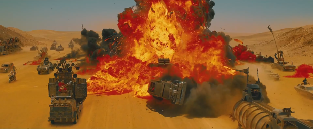 Mad Max 4 explosion