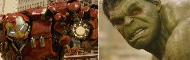 Avengers Hulkbuster vs Hulk