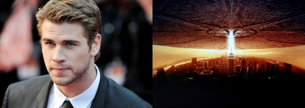 liam hemsworth in Independence day