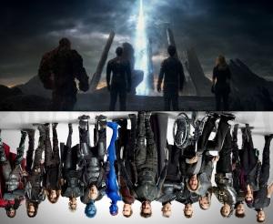 X-Men vs 4 Fantastic