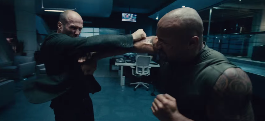 FF7 The rock vs Statham