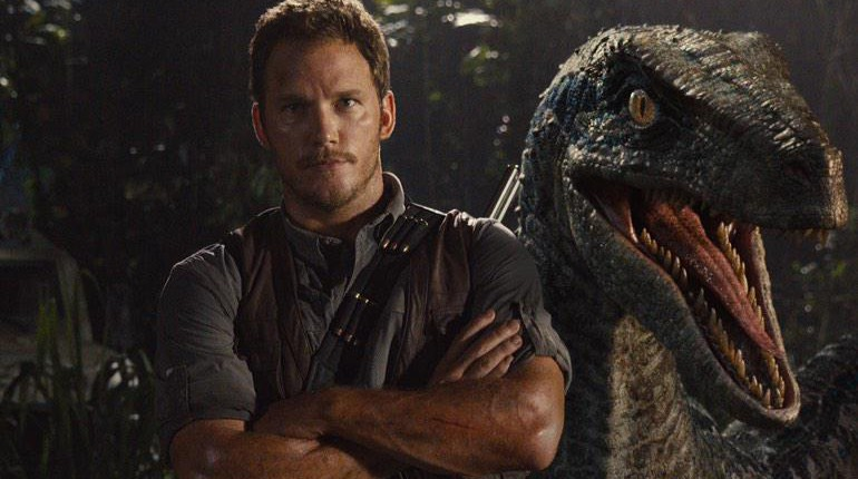 Jurassic-World Chris-Pratt Raptor