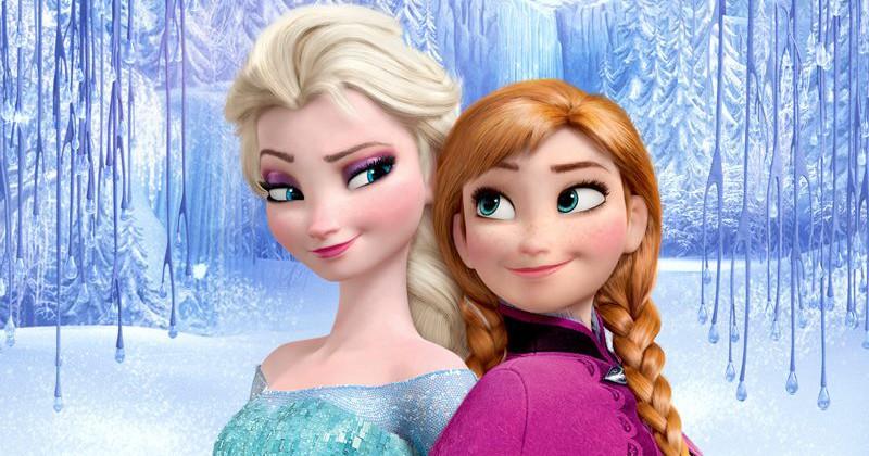La reine des neiges Elsa et l'autre
