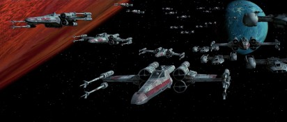 Star Wars X-wing armée