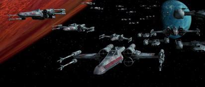 Star Wars X-wing armée