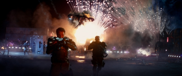 Terminator Genisys explosion