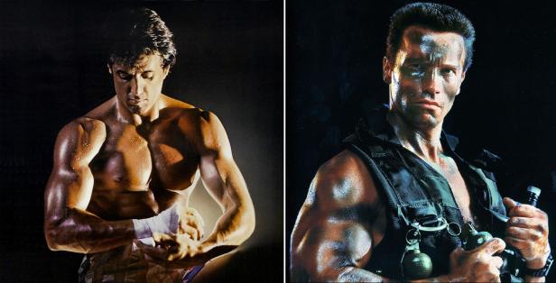Rocky vs Commando
