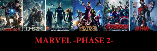 Marvel Phase 2 COMPLETE BLACK