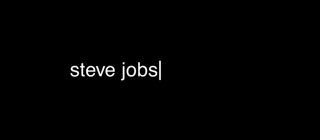 Steve Jobs titre