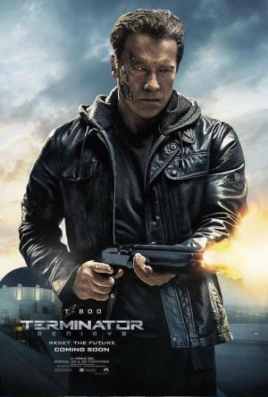 Terminator Genisys T-800 aff