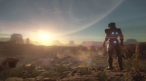 Mass Effect Andromeda paysage western