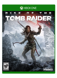 Rise of the Tomb Raider jaquette