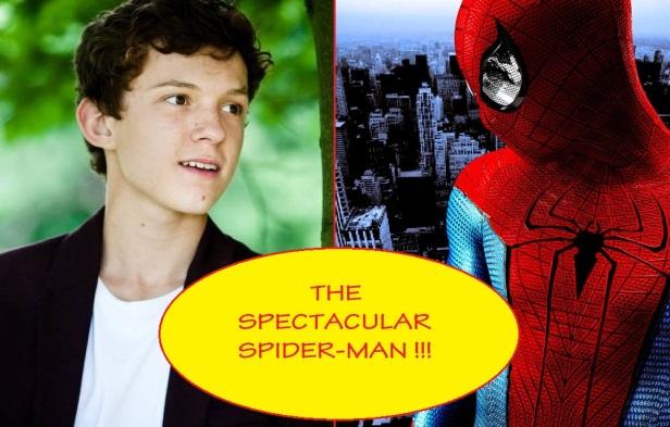 Tom Holland Spectacular Spider-Man2