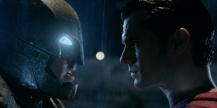 Batman V Superman confrontation