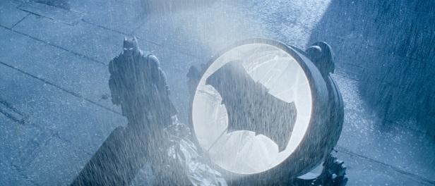 Batman V Superman signal