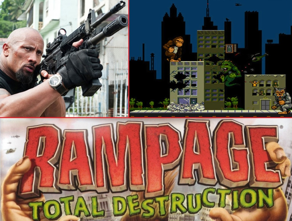 Dwayne Johnson Rampage2