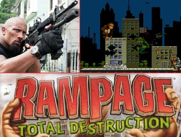 Dwayne Johnson Rampage2