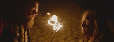 The Revenant Leo fire