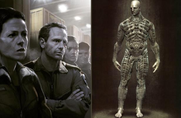 Alien 5 Prometheus Concept