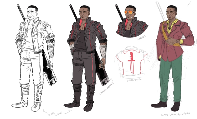 Blade new comics