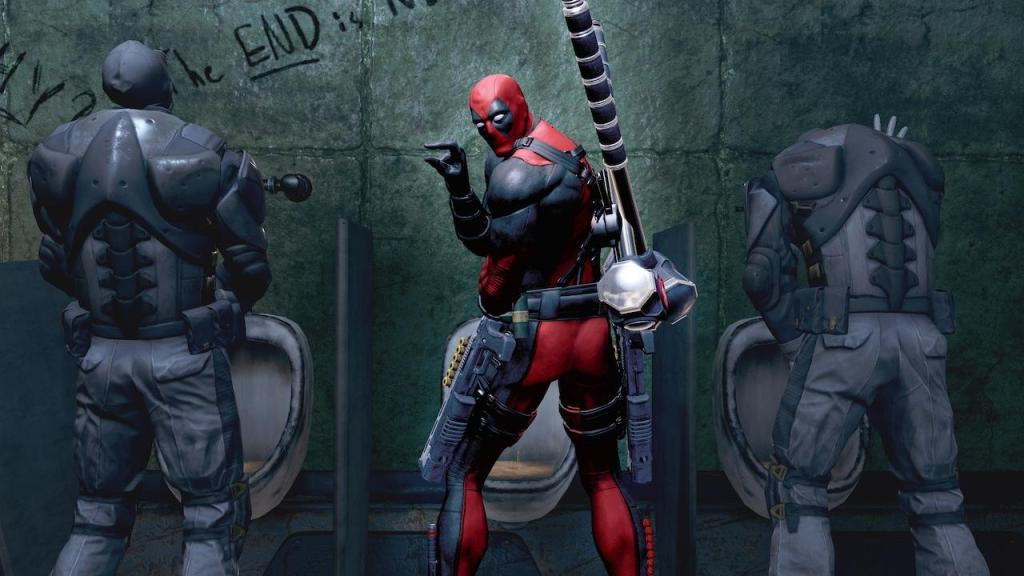 Deadpool humor