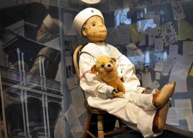 Robert the doll real
