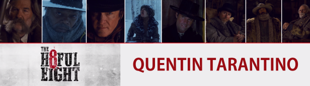 The hateful eight characters ban réal