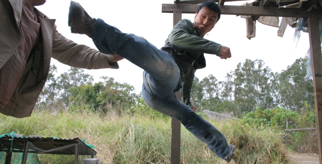 Donnie Yen kick