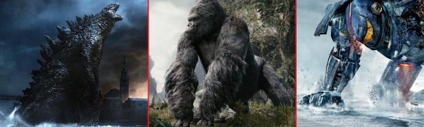 Godzilla vs King Kong vs Pacific Rim